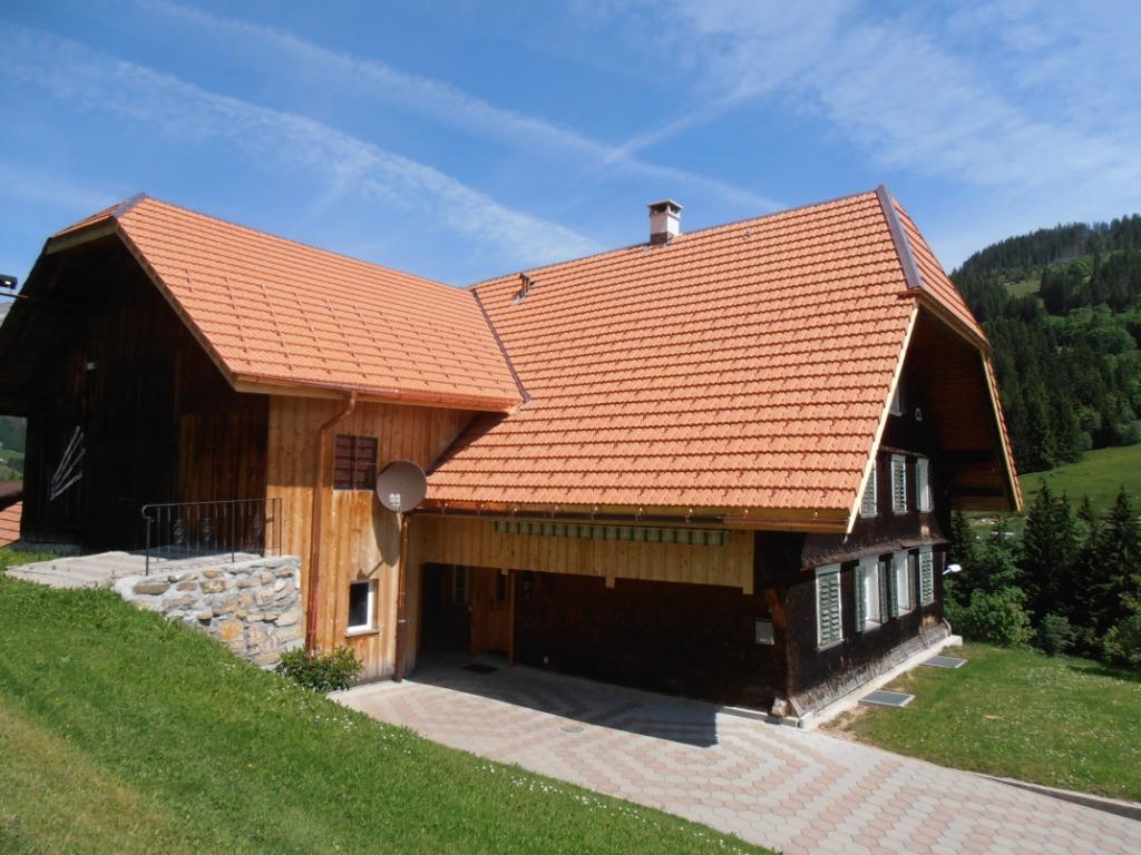 Neue Dacheindeckung mit Unterdach